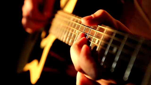 guitar player - guitarist stock videos & royalty-free footage