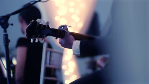guitar player - live event stock videos & royalty-free footage