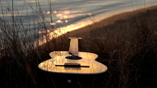 guitar - musical instrument string stock videos and b-roll footage