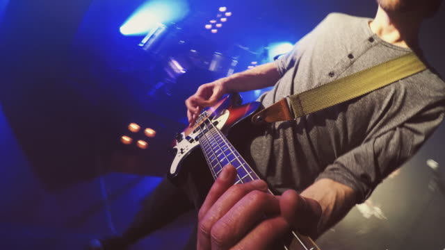 POV of guitar