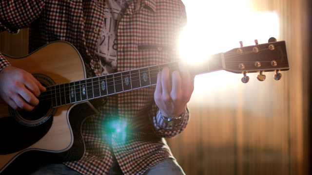 guitarist on stage - country and western stock videos & royalty-free footage