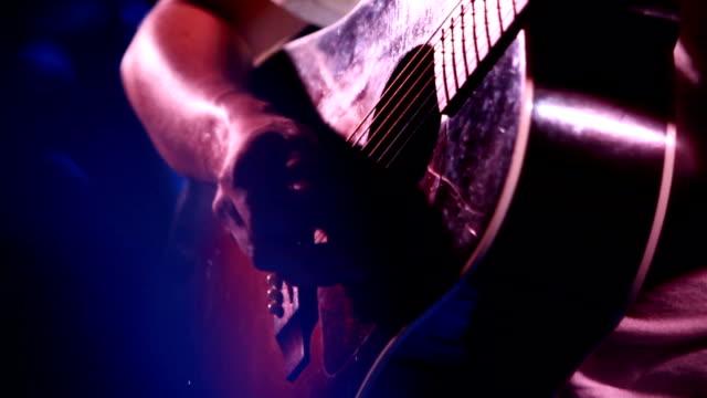 Guitarist Playing Guitar