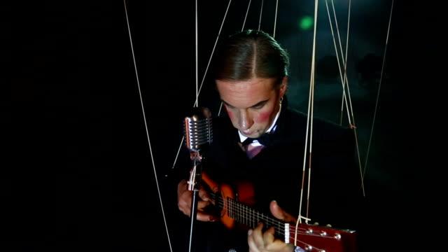 guitarist puppet