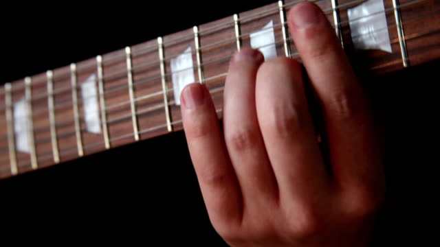 guitarist - fretboard stock videos & royalty-free footage