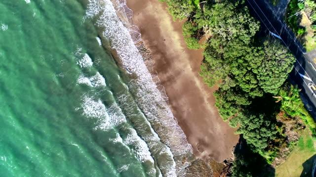 ガルフハーバー航空写真 - オークランド点の映像素材/bロール