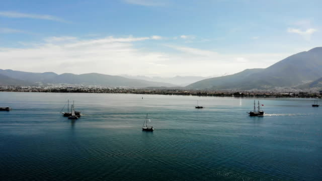 gulf of fethiye. - fethiye stock videos and b-roll footage