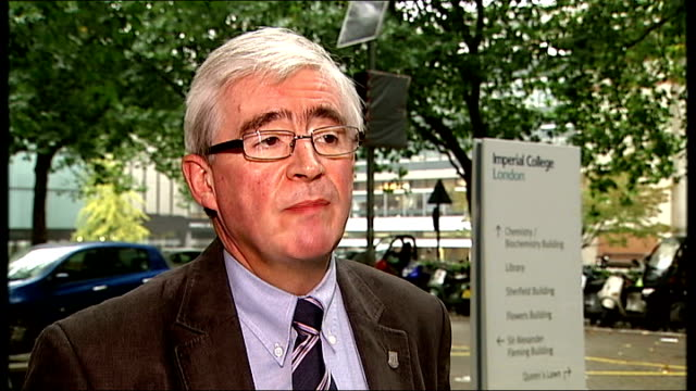 gulf of mexico oil spill / bp deepwater horizon investigation england london professor geoffrey maitland interview sot - 2010 stock videos & royalty-free footage