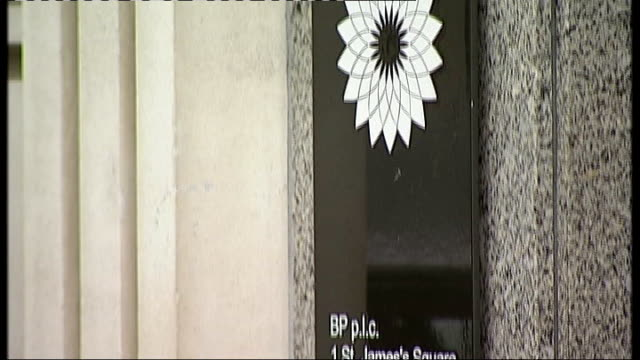 Obama demands compensation for victims GENERICS from SERVER ENGLAND London EXT General view of BP headquarters building in St James' Square General...