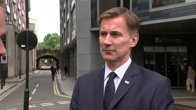 Jeremy Hunt interview ENGLAND London EXT Jeremy Hunt MP interview [Q re oil tanker attacks] You think it would be obvious with footage / But for...