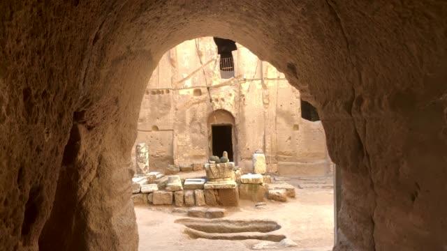gumusler monastery, nigde city, türkei - jesus christus stock-videos und b-roll-filmmaterial