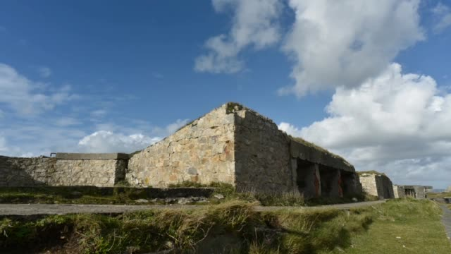 Gun emplacements and Concrete Bunkers-Pen Hir point, Finistere