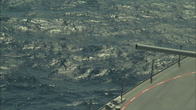 CU, HA, gun firing from military ship