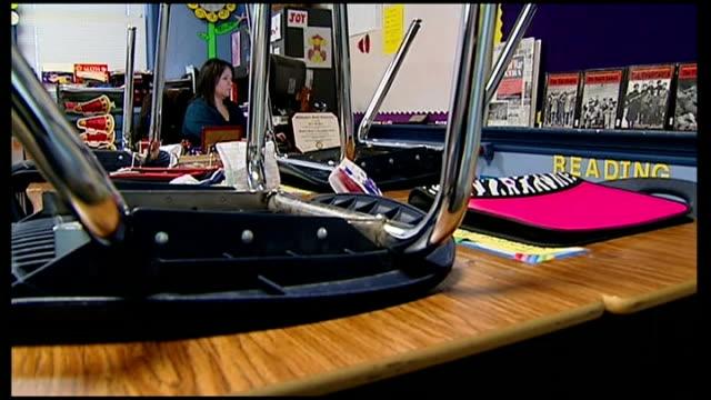armed teachers in Texas school Arizona 'Posse Man' Rick Velotta patrollilng in his car Texas Harrold Harrold Independent School Teacher working at...