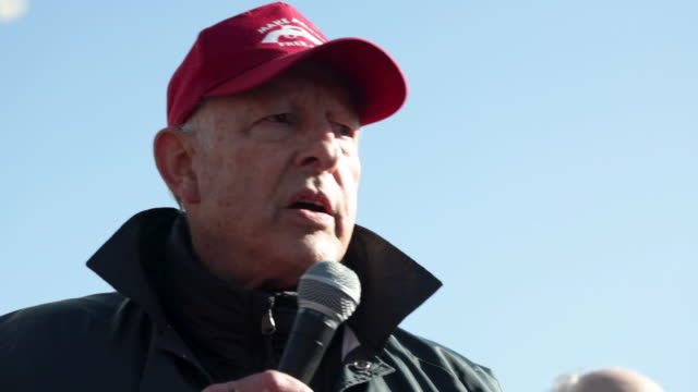 gun rights advocate dick heller addresses a rally on capitol square near the state capital building january 20 2020 in richmond virginia during... - virginia us state stock videos & royalty-free footage