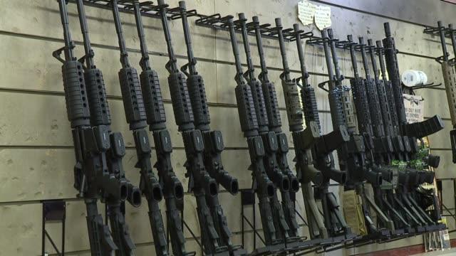 ktxl gun store in sacramento - gun shop stock videos and b-roll footage