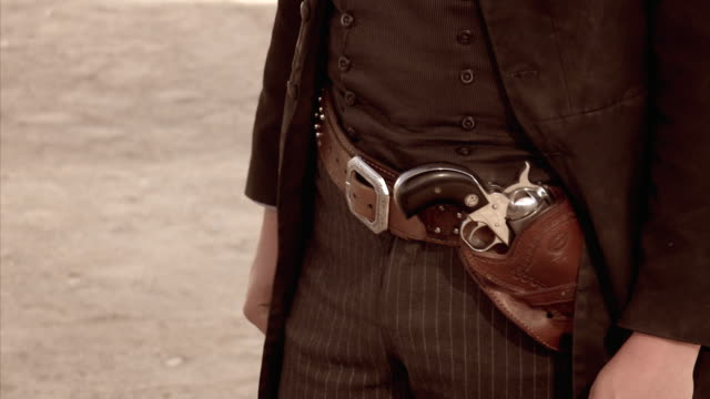 Gunbelt of gunfighter in Tombstone, Arizona