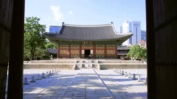 Gunghwajeon is the main hall of Deoksugung.