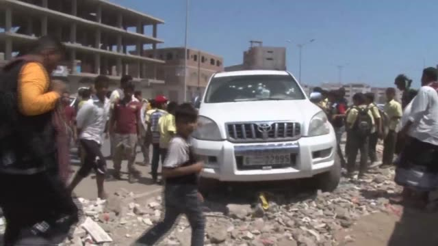gunman killed a senior yemeni army officer in aden on monday, as violence in the southern port city which is the headquarters of the saudi-backed... - port said stock videos & royalty-free footage
