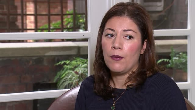 gunmen kill at least 25 people during military parade in ahvaz england london int sara bazoobandi interview sot - 武装犯点の映像素材/bロール