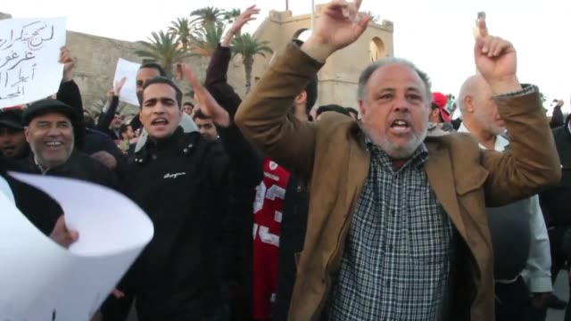 Gunmen opened fire in the Libyan capital on Friday as hundreds of people demonstrated against the presence of militias in Tripoli where armed groups...