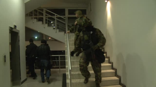 gunmen stormed into a hotel in the crimean regional capital simferopol on saturday just ahead of a tense referendum on the black sea peninsula to... - peninsula stock videos & royalty-free footage