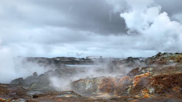 Gunnuhver geothermischen, Island