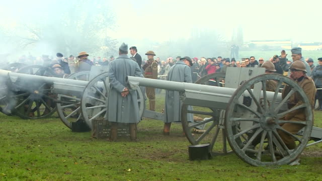 WWI guns being fired to mark 100 years since Passchendaele was captured