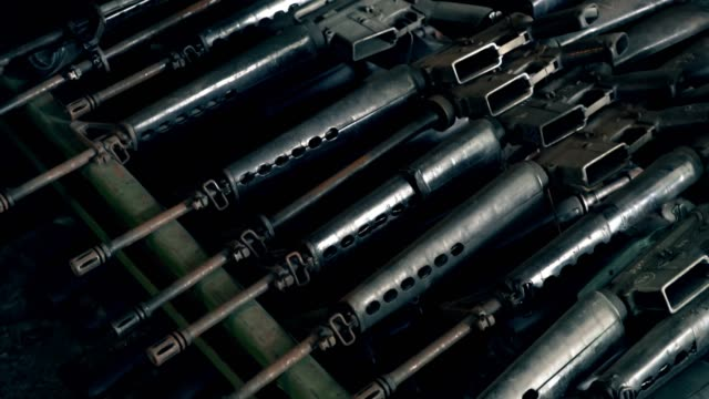 guns old - weaponry stock videos & royalty-free footage