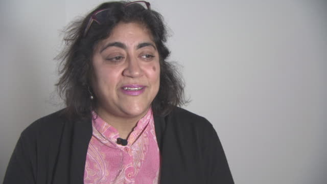 INTERVIEW Gurinder Chadha on 'Bend It Like Beckham The Musical' going on tour at British Asian Trust Awards ambassador interviews at Claridges Hotel...
