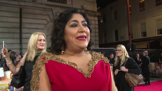 Gurinder Chadha on the movie her own experiences and life from the characters view on February 21 2017 in London England