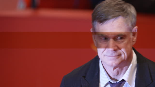 Gus Van Sant at 68th Berlin Film Festival Don't Worry He Won't Get Far on Foot Red Carpet at Berlinale Palast on February 20 2018 in Berlin Germany