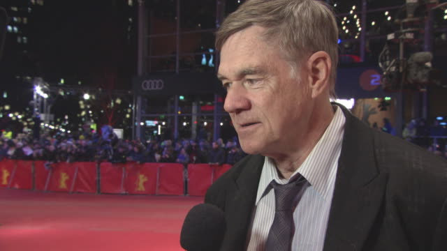 INTERVIEW Gus Van Sant on being in Berlin the response he gets from audiences working with Joaquin Phoenix and Rooney Mara at 68th Berlin Film...