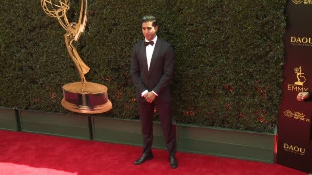 Gustavo Velasquez at the 2018 Daytime Emmy Awards at Pasadena Civic Auditorium on April 29 2018 in Pasadena California