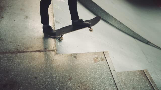 Guy in skatepark