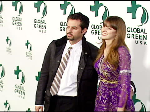 guy oseary and michelle alves at the 3rd annual pre-oscar party hosted by global green usa on february 21, 2007. - oscar party stock videos & royalty-free footage