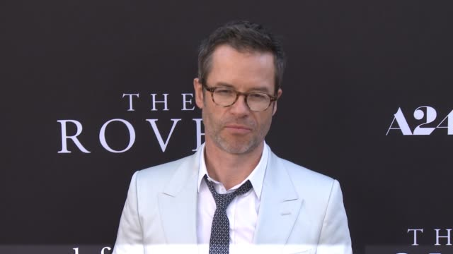 guy pearce at the rover los angeles premiere at regency bruin theatre on june 12 2014 in los angeles california - regency style stock videos and b-roll footage