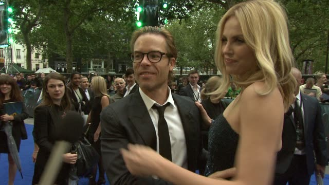 Guy Pearce Charlize Theron at Prometheus World Premiere at Empire Leicester Square on May 31 2012 in London England