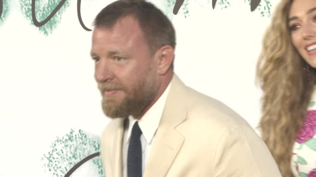 guy ritchie jacqui ainsley at the serpentine gallery summer party at the serpentine gallery on june 28 2017 in london england - the serpentine gallery stock videos & royalty-free footage