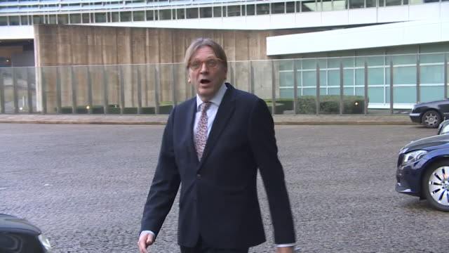 Guy Verhofstadt saying he is 'optimistic' that a '5050' Brexit deal is possible