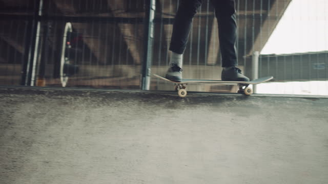 Guys in skatepark