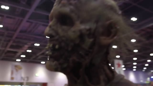 GVs and an interview at the 2017 MCM Comic Con at the Excel Centre London