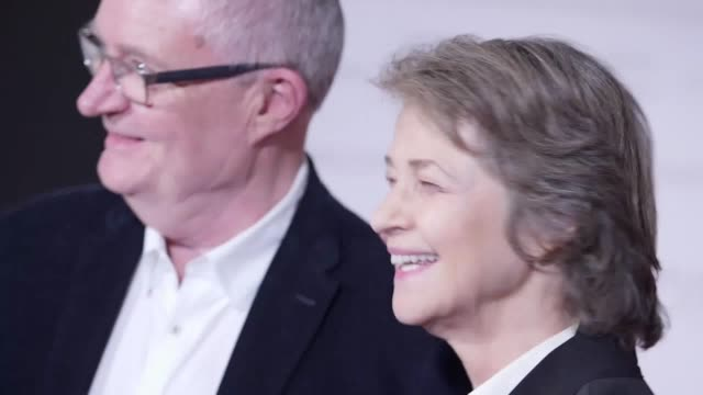 GVs at the Sense of an Ending premiere in London with of Jim Broadbent Charlotte Rampling Ritesh Batra Julian Barnes Billy HowleHarriet Walter and...