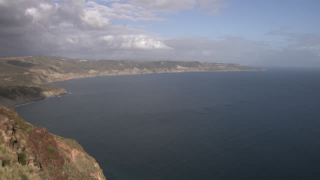 gvs baja california coastline, mexico - baja california peninsula stock videos & royalty-free footage