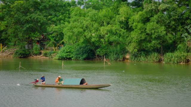 gvs ben hai river in vietnam - hai river stock videos & royalty-free footage