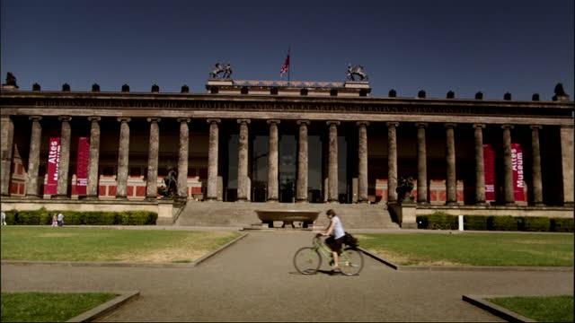 gvs berlin on sunny day - berlin stock videos & royalty-free footage