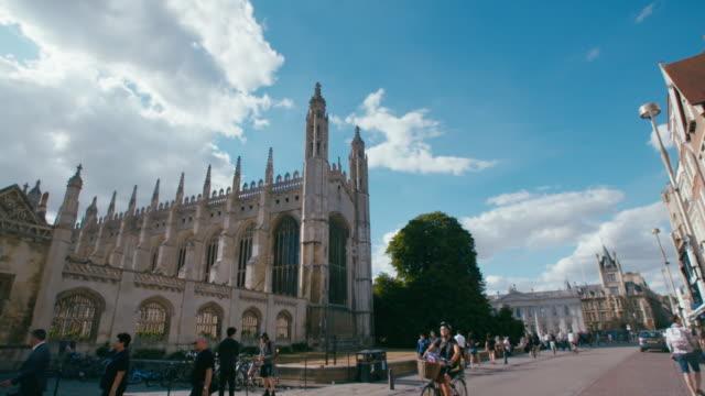 vídeos de stock, filmes e b-roll de gvs cambridge - king's college cambridge