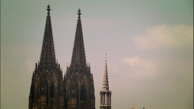 gvs cologne, germany - kathedrale stock-videos und b-roll-filmmaterial