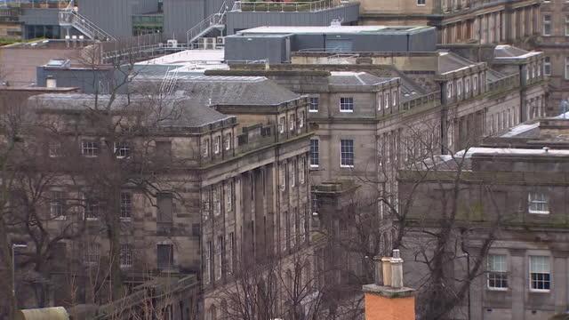 gvs edinburgh - general view stock videos & royalty-free footage