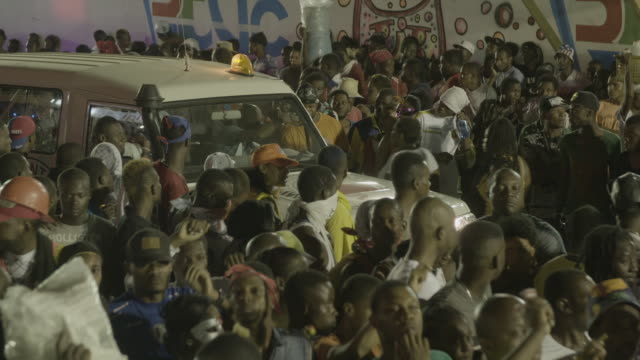 gvs from haiti's annual carnival celebration in portauprince a day after bloody political protests - haiti stock-videos und b-roll-filmmaterial