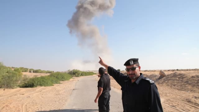 GVs from the Gaza Strip where Hamas recently came into power and the conflict with Israel burns strong